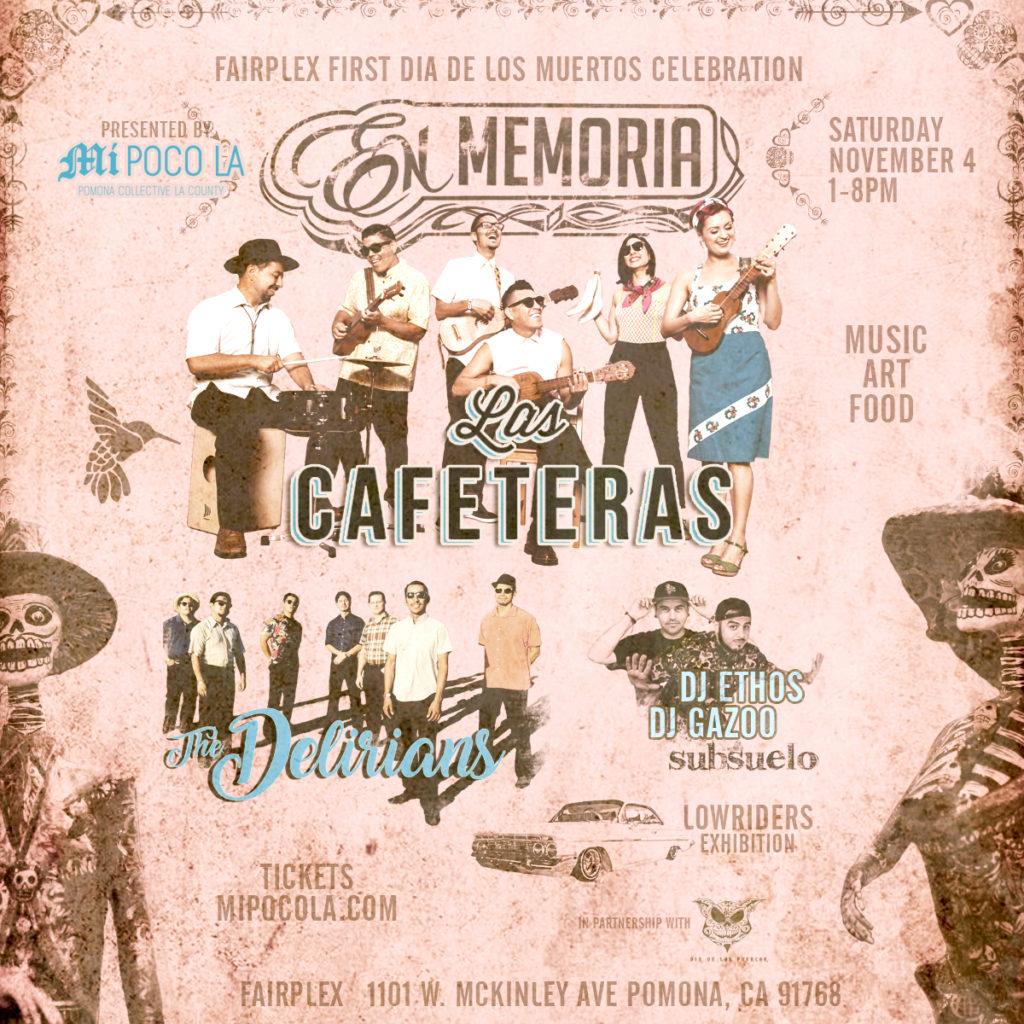 Las Cafeteras, The Delirians + DJs Gazoo & Ethos at En Memoria
